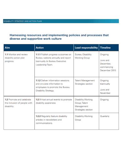 talent management strategy action plan