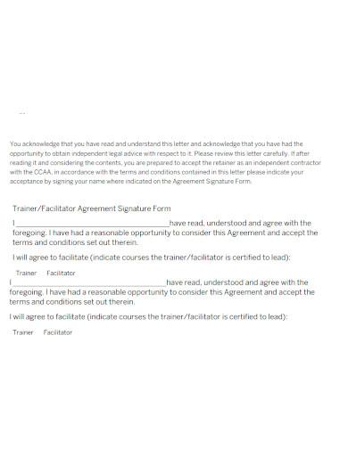 workshop services agreement format
