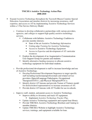 assistive technology action plan