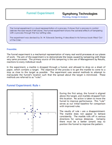 funnel experiment analysis