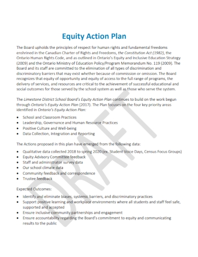 printable equity action plan