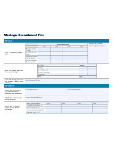 strategic recruitment plan