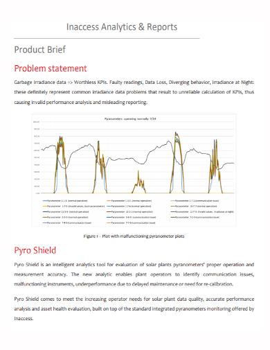 analytics product problem statement