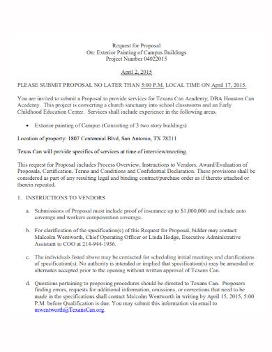 campus building project proposal