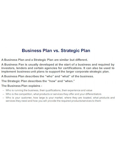 exit strategy business and strategic plan