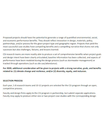 formal academic project proposal