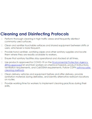 formal warehouse cleaning checklist