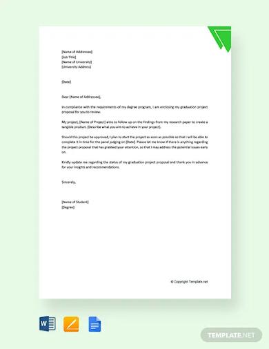 graduation project proposal template