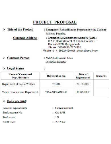 housing strategic project proposal