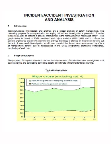 incident accident investigation analysis