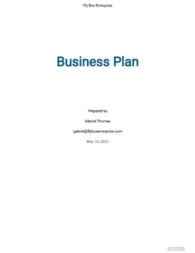 logistics business plan sample