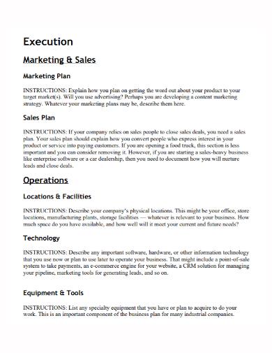 marketing operations execution plan