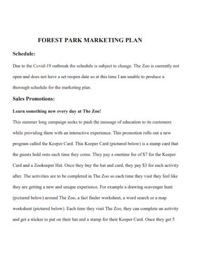 marketing sales promotion plan