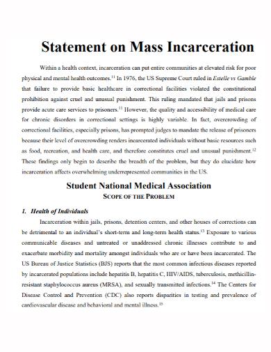 medical student problem statement