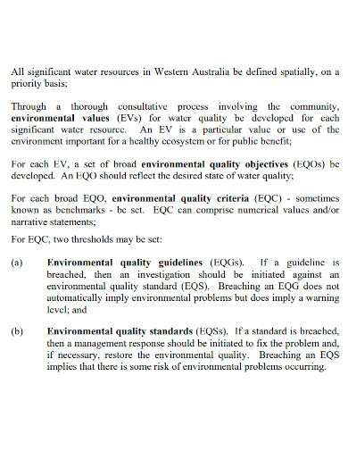national water quality management strategy