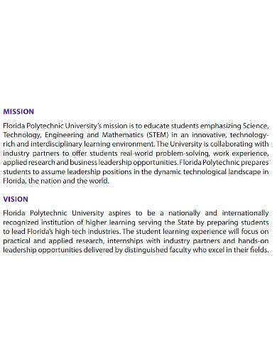 polytechnic university business plan