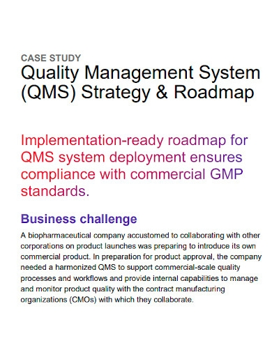 quality management system strategy