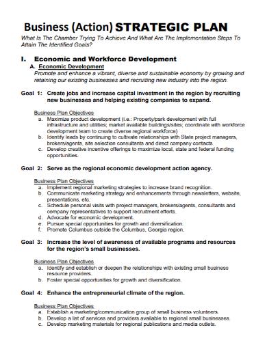 strategic business action plan