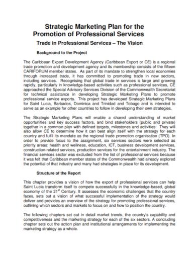 strategic marketing promotion plan