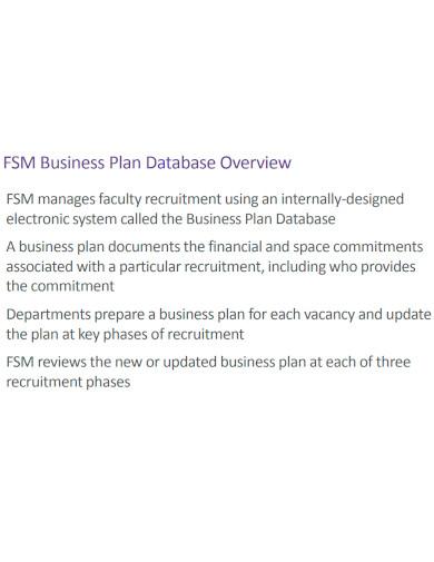 strategic recruitment business plan