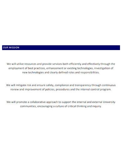 university financial services business plan