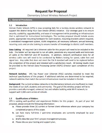 wireless network project proposal