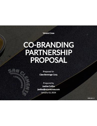 brand partnership proposal