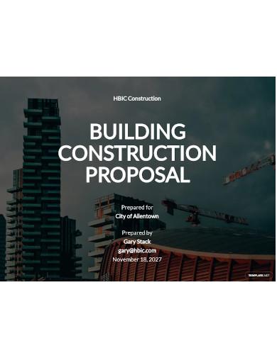 building construction proposal1