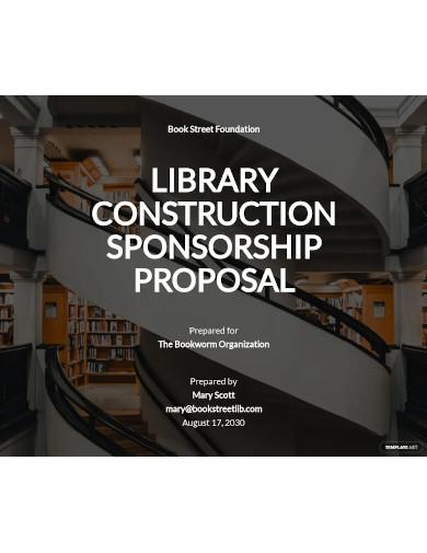 construction sponsorship proposal