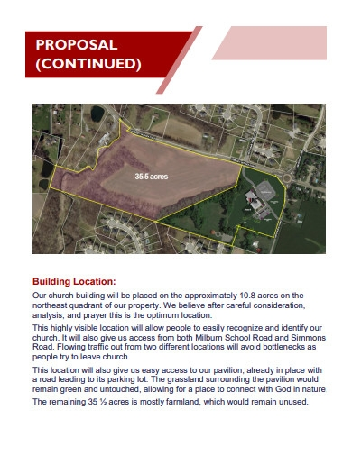 new building construction proposal