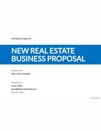 new business proposal template