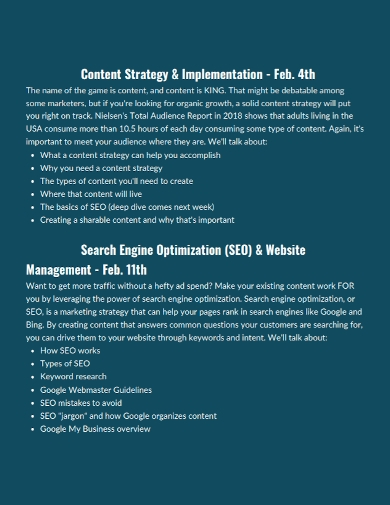 seo content implementation strategy