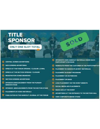 sample advertising sponsorship proposal
