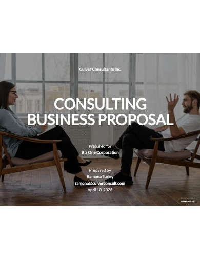 sample business consulting proposal