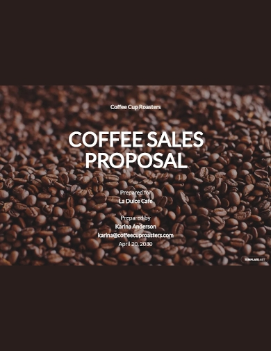 short sales proposal template