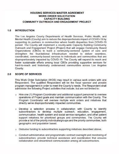 work order services agreement