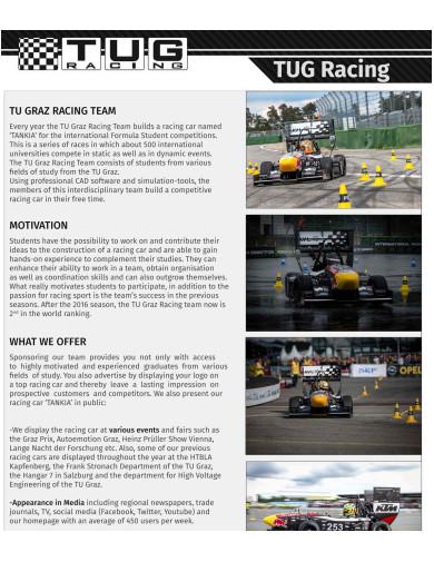 racing team sponsorship proposal