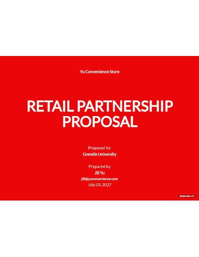 retail partnership proposal