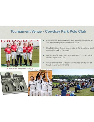 tournament team sponsorship proposal